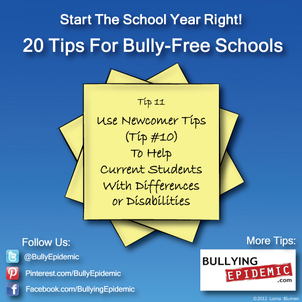 Back to School Tip #11