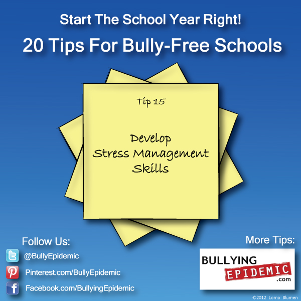 Back to School Tip #15