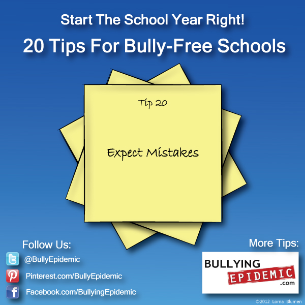 Back to School Tip #20