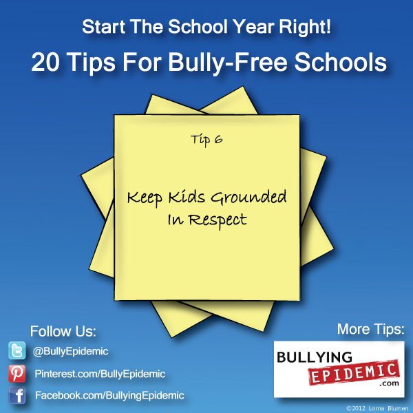 Back to School Tip #6