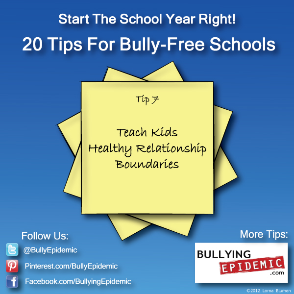 Back to School Tip #7