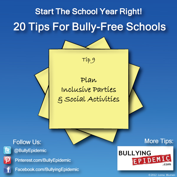 Back to School Tip #9